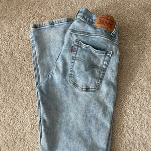 Boy's Acid Washed Levi's☘️ Great Used Condition 🌵